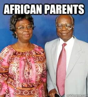 Les parents Africains