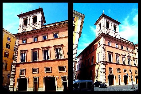 Altana na dachu Palazzo Altemps