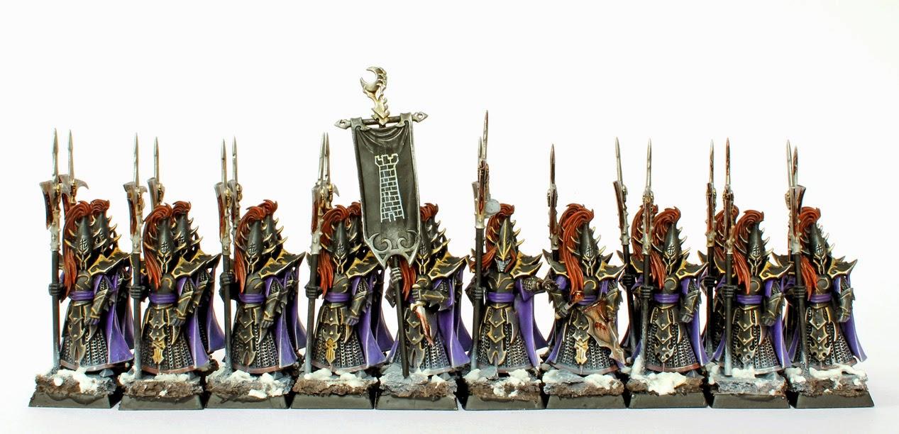 showcase dark elves black guard tale of painters rh taleofpainters blogspot com warhammer dark elf painting guide Yu-Gi-Oh! Dark Elf