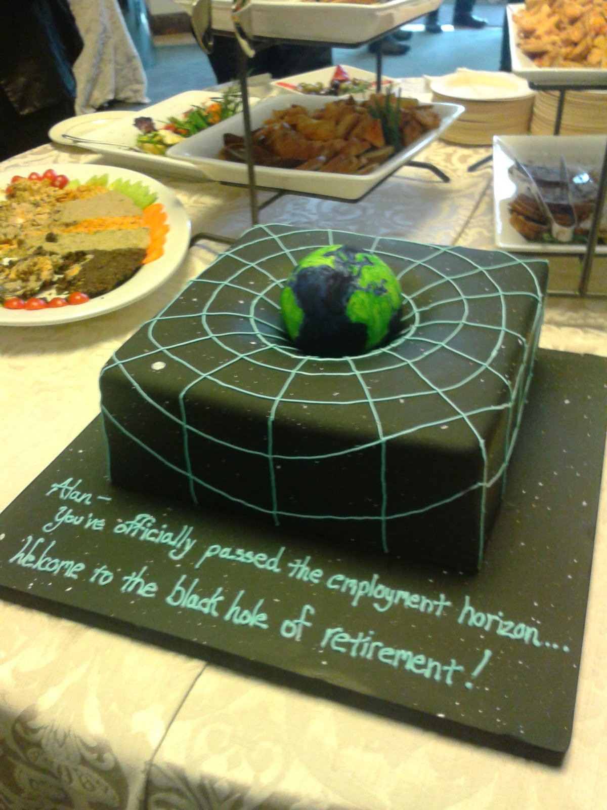 The Gravitational Force Of Earth On A Cake