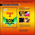 Dicari Distributor dan Agen SON POLISH (Pengkilat dan Pelindung Cat Motor/Mobil) Seluruh Indonesia