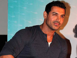Actor John Abraham at vicky donor movie first look