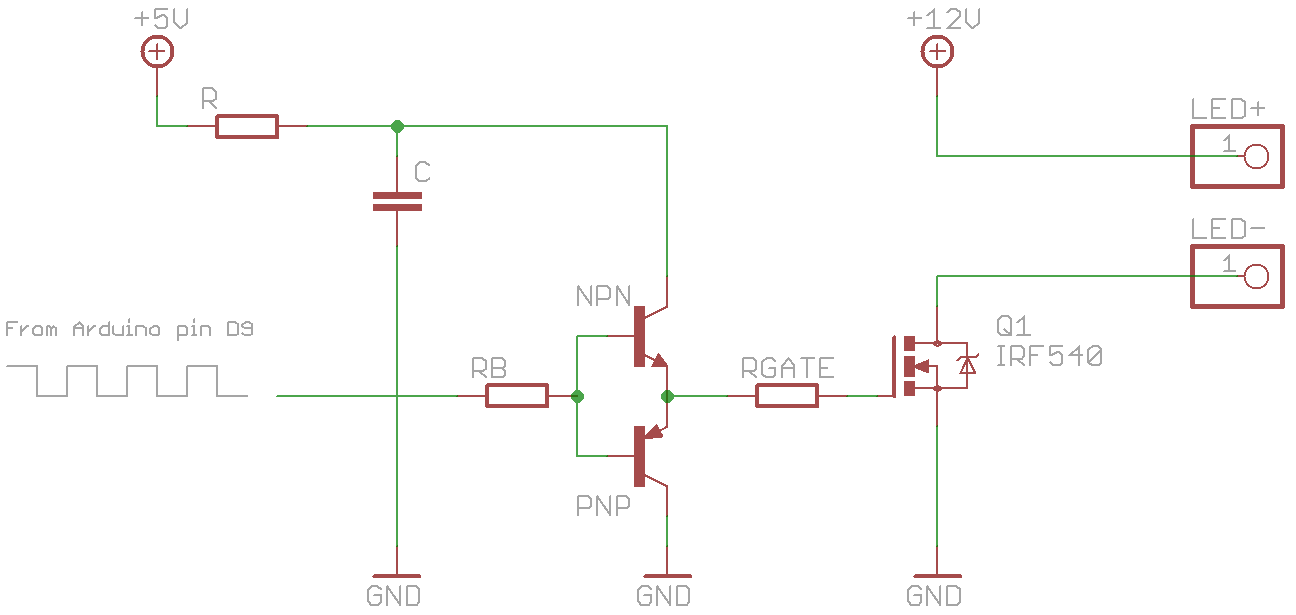 Starlight Dimming A 12v Led Strip With A Mosfet And Pwm