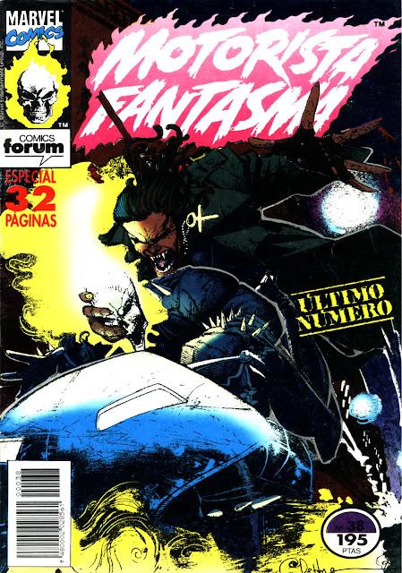Portada Motorista Fantasma Nº 38 Comics Forum