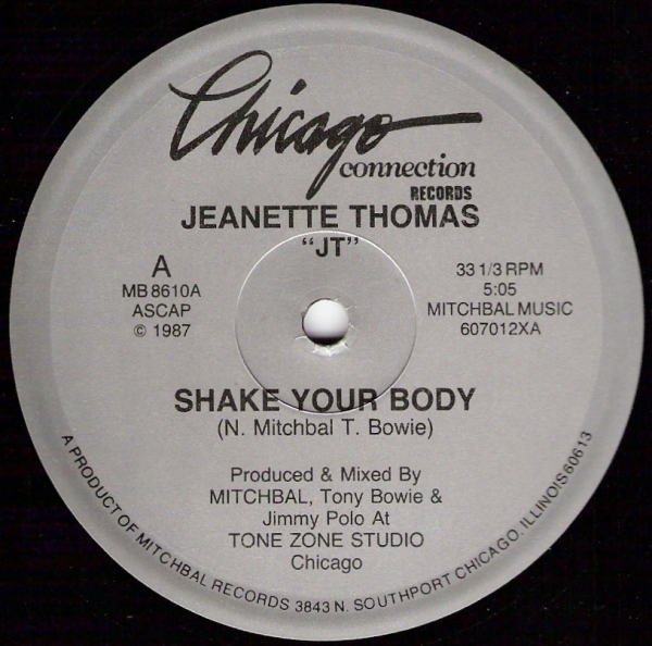 Jeanette Thomas Shake Your Body