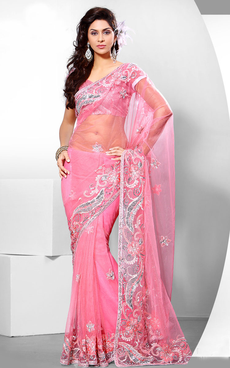 Fashion Magazine Party Saree Collection