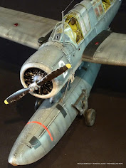Building Kittyhawk's 32nd scale Kingfisher OS2u