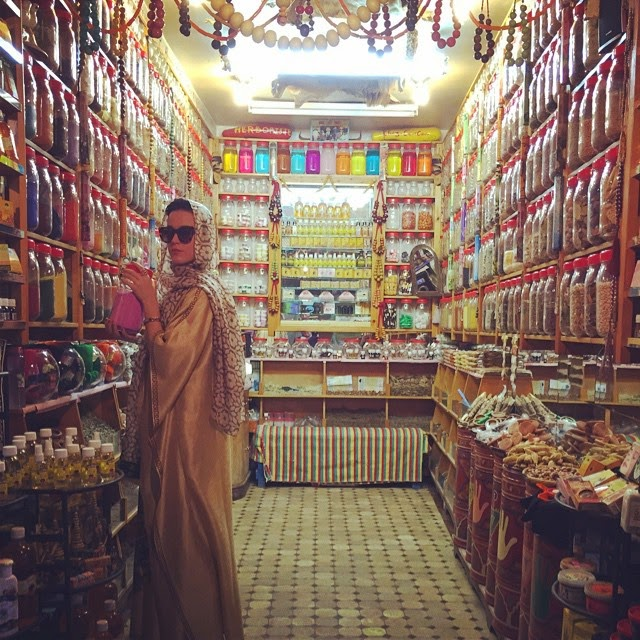 Katy posted a photo from its Moroccan and crafted getaway spice gir