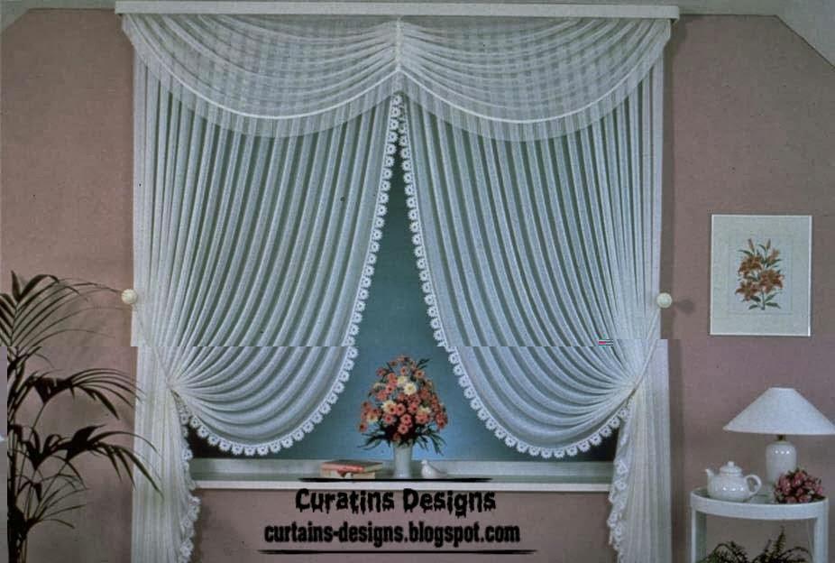Superbe Stylish Sheer Curtain Design, White Sheer Curtain