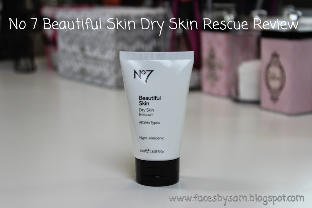 No 7 Beautiful Skin Dry Skin Rescue Review