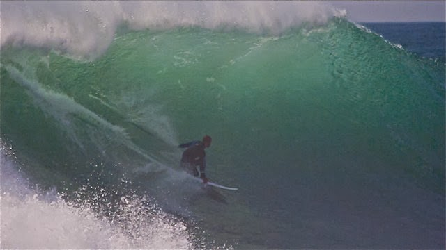 Kelly Slater * Alone in Nazare