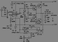 Amplifier circuit schematic diagram skema rangkaian amplifire 10 10 watt audio amplifier with bass boost circuit diagram asfbconference2016 Gallery