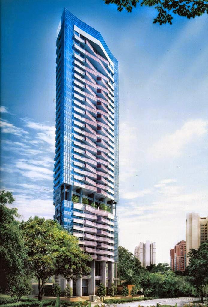 50 cool condos in singapore urban architecture now - Appartement grange infinite showflat singapour ...