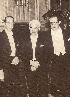 Los protagonistas del concierto.