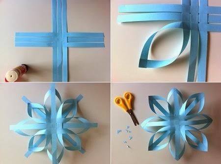 Adornos de papel para navidad - Manualidades de navidad para ninos paso a paso ...