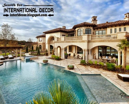 luxury villas, beautiful villa designs with swimming pools