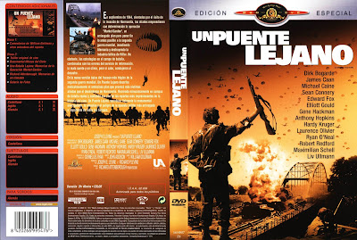 Cover, dvd, caratula: Un puente lejano | 1977 | A Bridge Too Far