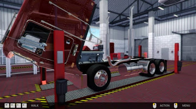 Truck Mechanic Simulator 2015 PC Game