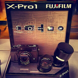 camara reflex profesional Fujifilm X-Pro1