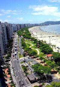 Réveillon em Santos
