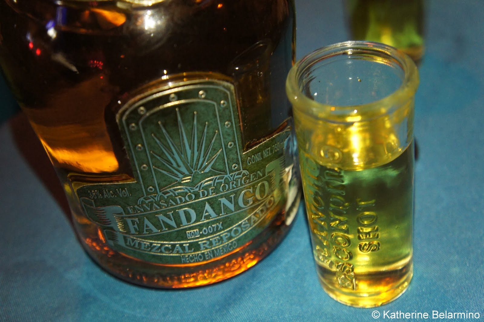 For mezcal with a worm, try Gusano Rojo Mezcal. For a much higher ...