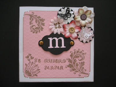 Tarjeta día de la madre/ Mother's day card / Carte fête de mères