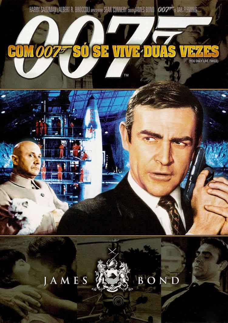 Com 007 Só Se Vive Duas Vezes Torrent - Blu-ray Rip 720p e 1080p Dual Áudio (1967)