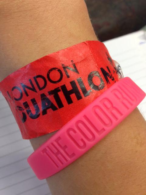 London Duathlon 2013 Brighton Colour Run