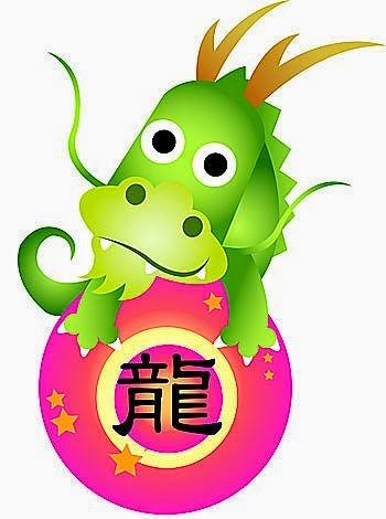 Zodiaco Chino para niños signo del Dragón