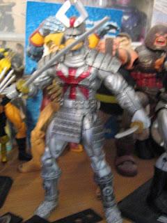 Marvel Universe comic packs X-men Wolverine Patch Silver Samurai Classic Famous Battles