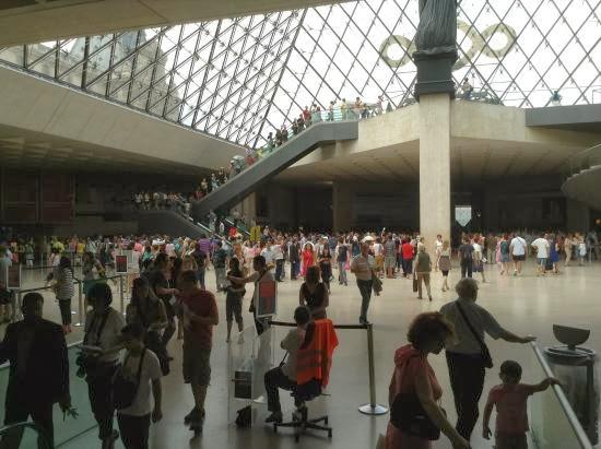Acceso Louvre