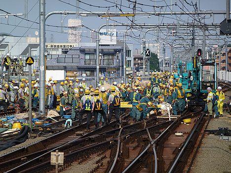 中央線各駅停車 東小金井行き E233系(中央線武蔵小金井駅工事に伴う運行)