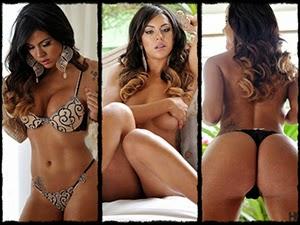 Aline Bernardes ensaio sensual Homem On