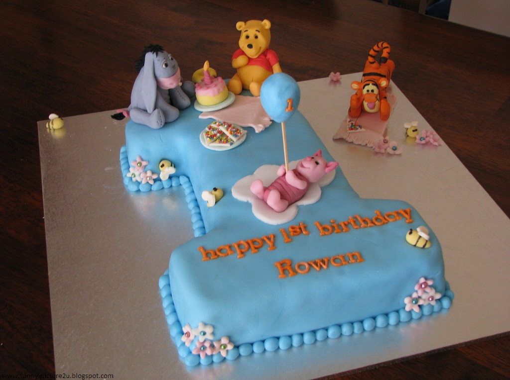 Unique Pictures Of First Birthday Cakes For Boy Baby Best Home