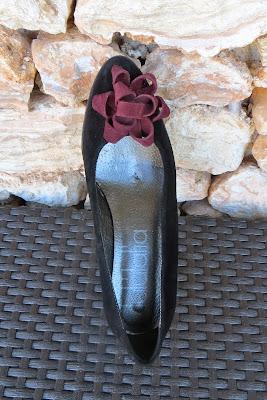 zapatos online tipo bailarina con adorno