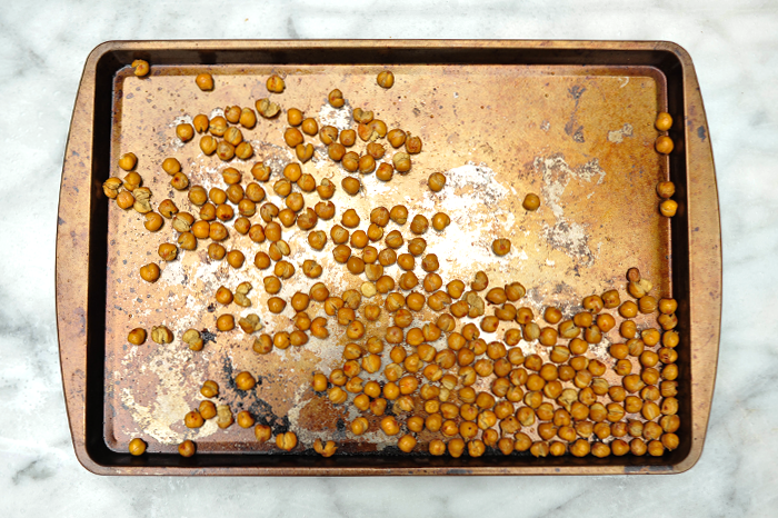 Roasted Chickpeas for Avocado Tacos Vegan and Gluten Free