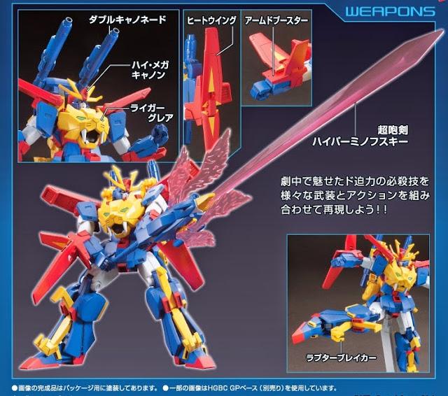 HGBF 1/144 Gundam Tryon 3