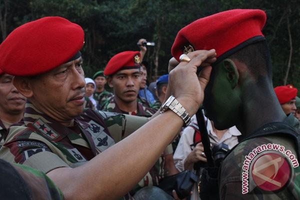 Komandan Jenderal Komando Pasukan Khusus Mayjen TNI Agus Sutomo