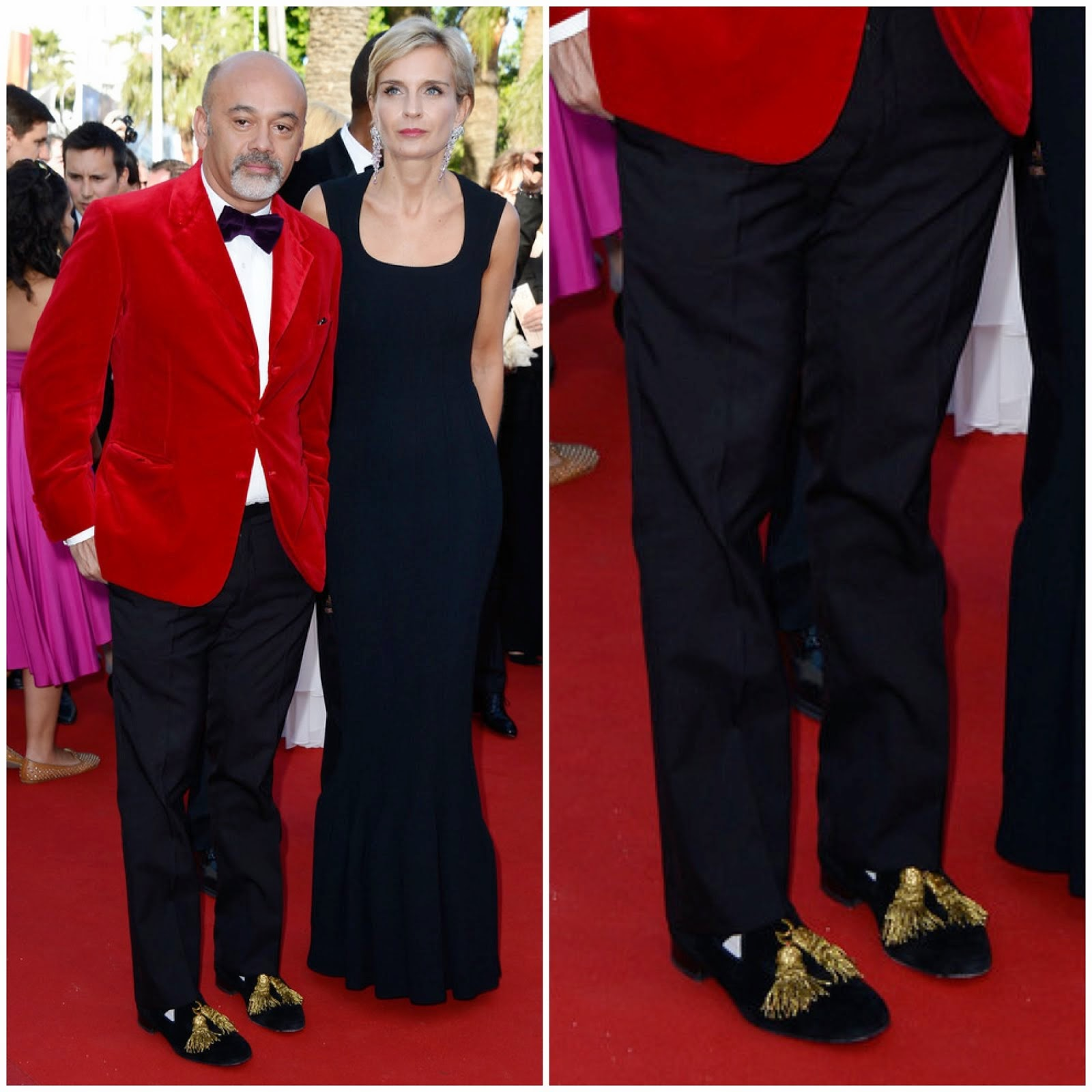 00O00 Menswear Blog: Christian Louboutin (@LouboutinWorld) at Premiere of 'Le Passe' - The 66th Annual Cannes Film Festival