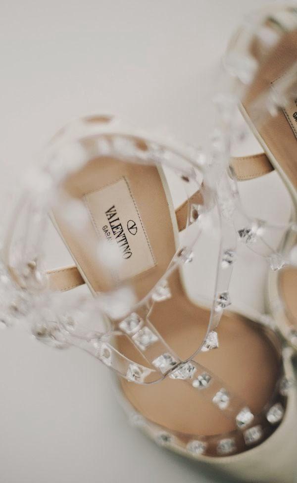 Usar um sapato lindo