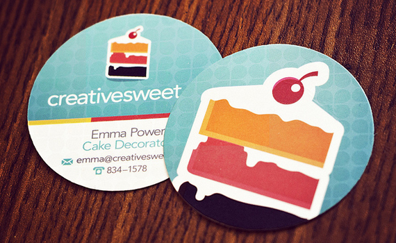 Creative Sweet Business Card