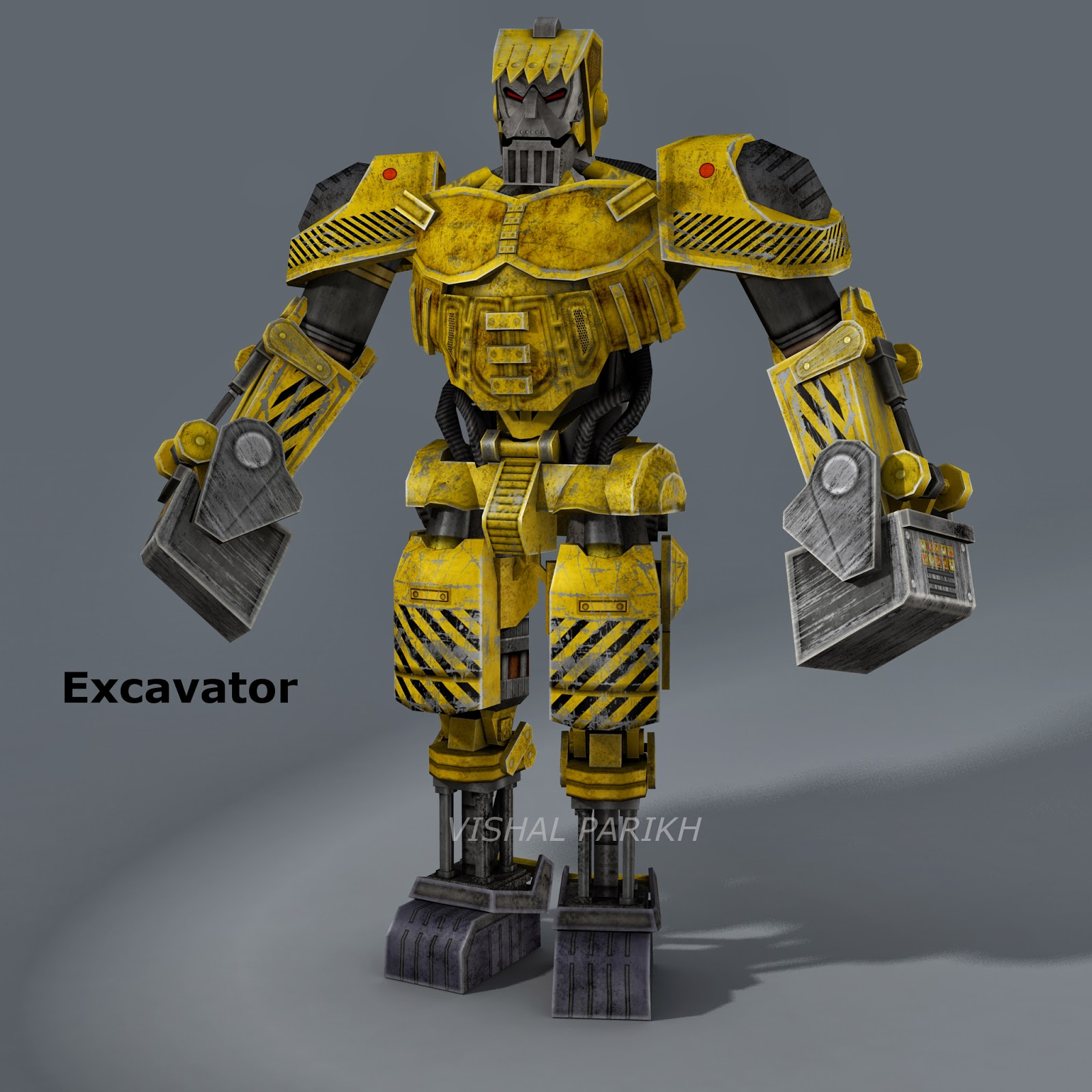 Real Excavator Games Real Steel hd Mobile Game