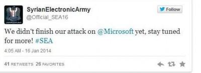 Email Microsoft Diserang Peretas Syria