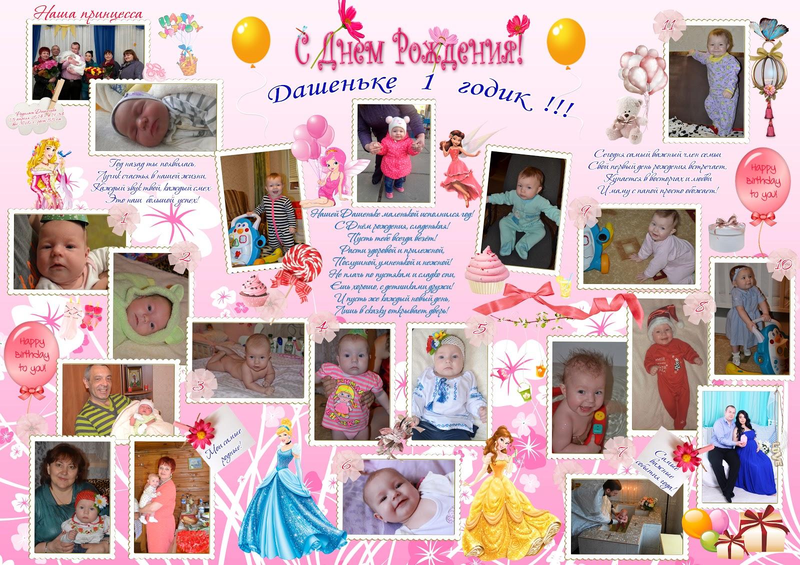 Стенгазета с днем рождения. Плакат на день рождения ребенка