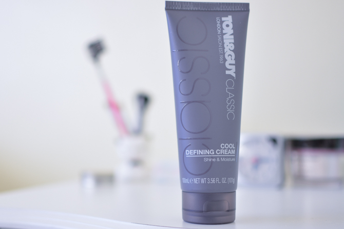 toni and guy cool defining cream review