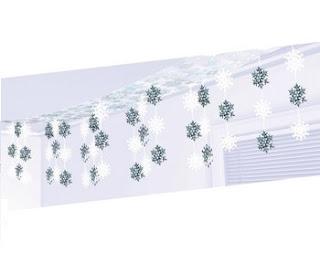 12' Let It Snow Foil Ceiling Decoration