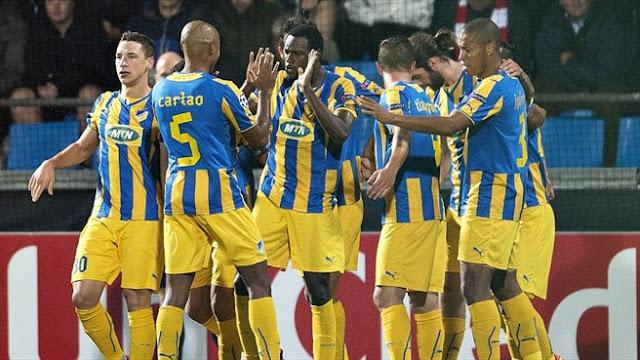 APOEL Nicosia vs FC Vardar Skopje link vào 12bet