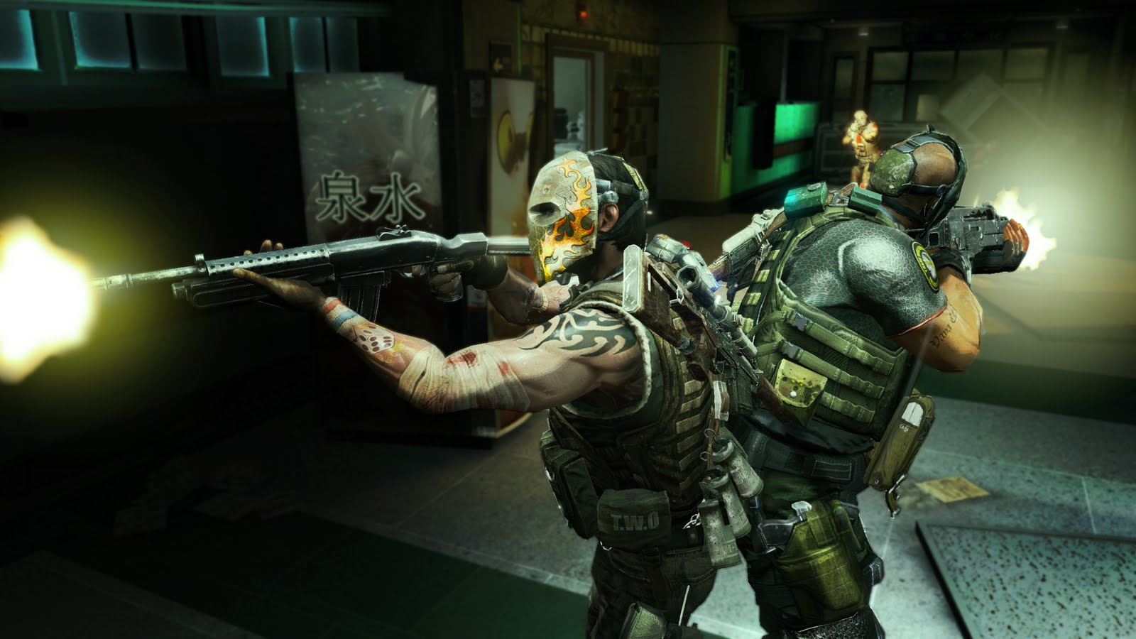 Army of two wallpaper