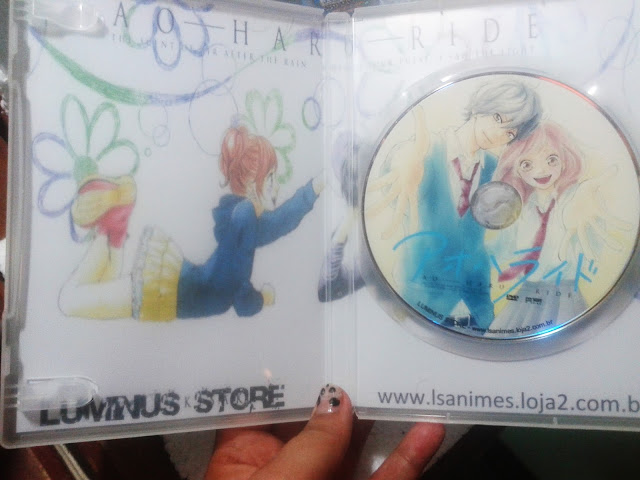 Review, anime, Dvds, Indicações, Ao  haru ride, animes, Bishojo, Crazy and Kawaii Desu, kawaii, Recebidos, Luminus Store