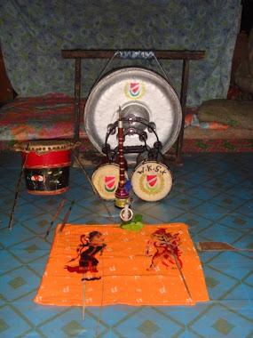 wayang kulit sri kayangan instruments